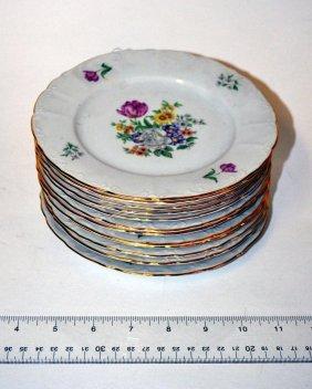 Set Of 12 Bohemian Dessert Plates