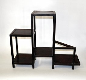 Asian Style Low Etagere