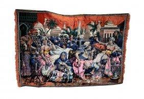 Harem Scene Tapestry