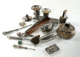 Silver And Silver Plate Table Articles