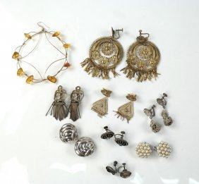 Group Of Miscellaneous Earrings
