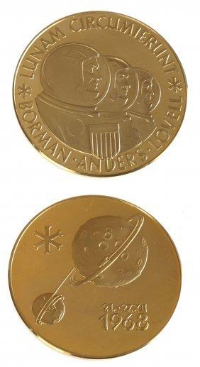 Aureus Magnus1968 Apollo Viii Gold Medal