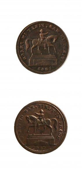 U.s. 1863 Civil War Patriotic Token