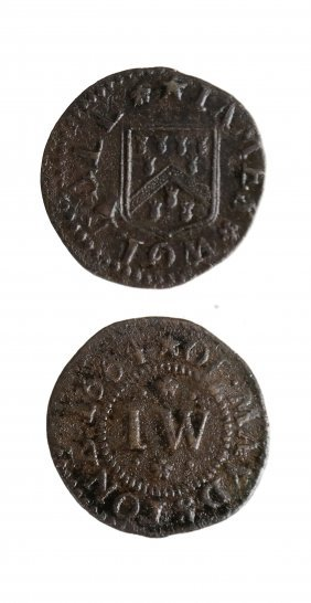 Maidstone 1664 James Wolball Farthing