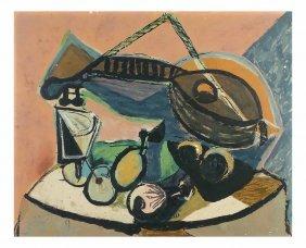 After Picasso, Pochoir - Nature Morte
