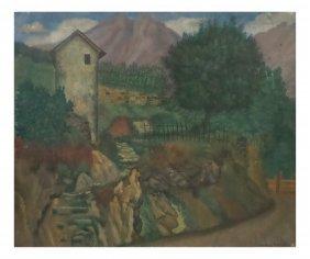 Harry Daniels, Oil On Canvas - Pastoral