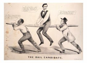 """Lincoln - """"the Rail Candidate"""""""