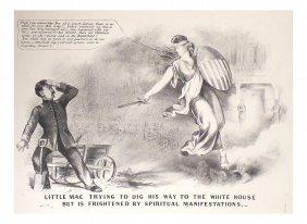 Lincoln - 1864 Anti-mcclellan Cartoon