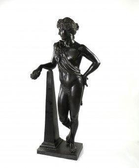 Bacchus Allegorical Bronze Figure