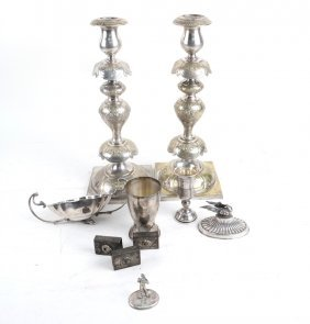 10 Silver And Plated Table Articles