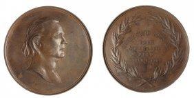 1887 Us Henry W. Beecher Memorial Medal