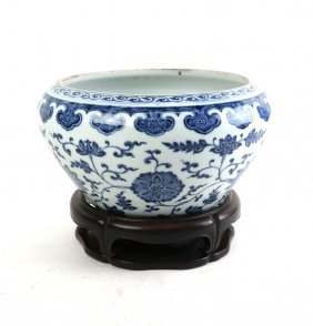 Chinese Export Bowl On Stand