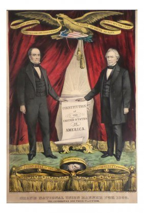 Bell & Everett - 1860 National Union Banner