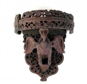 Carved Wood Burmese Bracket