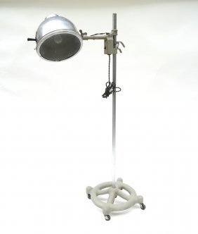 Vintage Adjustable Heat Lamp