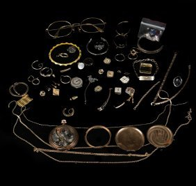 Group Of Jewelry Parts