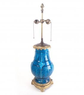 Chinese-style Urn Shaped Table Lamp