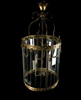 Neoclassical-style Hall Lantern