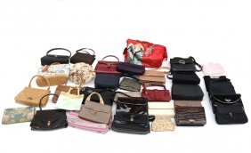 Group Of Ladies' Handbags