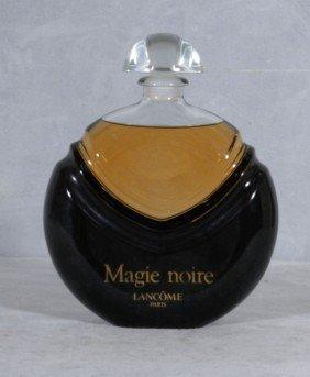 MAGIE NOIRE LANCOME PARIS DISPLAY PERFUME BOTTLE.