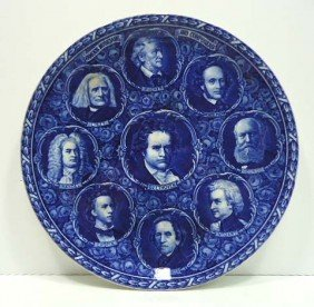 Rowland & Marsellus Composers Plate