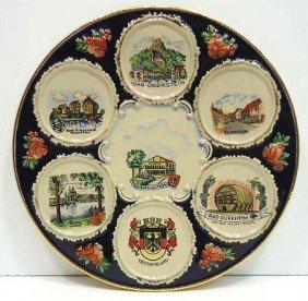 Germany Majolica Plate