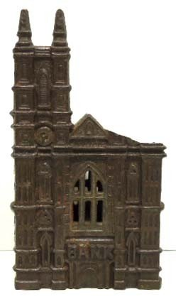 Old Cast Iron Bank