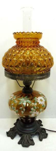 L.G. Wright H.P. G.W.T.W. Oil Lamp
