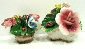 2 Capodimonte Flowers