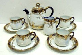 10 Pc. Nippon Tea Set