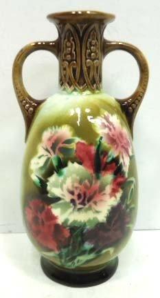 Czechoslovakia Pottery Vase