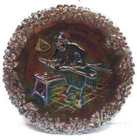 Fenton Carnival Glass Plate