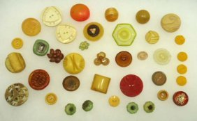 Crazy Fun Vtg. Celluloid Buttons
