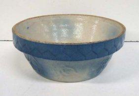 Blue/White Stoneware Bowl