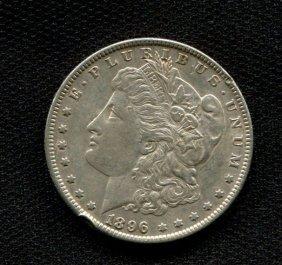 1896 Silver Dollar