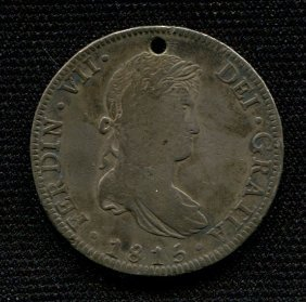 1815 Spanish Silver Coin
