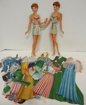 Lucille Ball Paper Dolls & Accessories