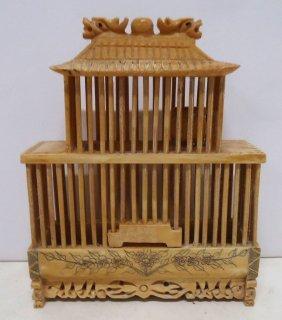 Ox Bone Cricket Cage