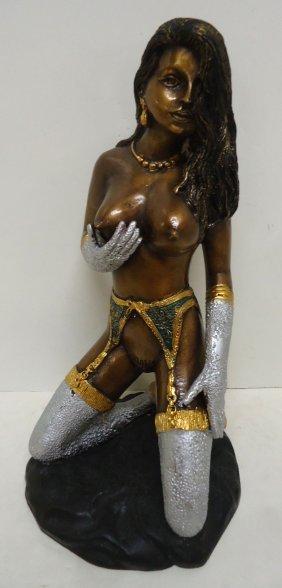 Bronze Erotic Nude Statue