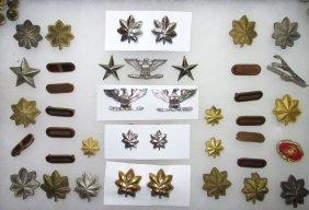 Lg. Lot Military Insignias