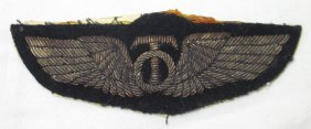 Wwii Aac Bullion Wing Patch