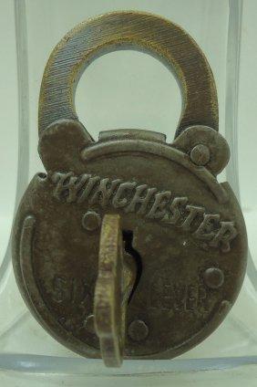 Brass Winchester Lock- Modern