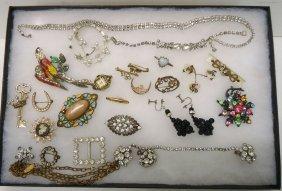 Lot Victorian Costume Jewelry