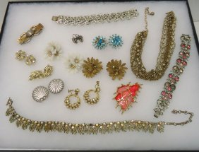 Lot Coro Costume Jewelry