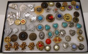 Lot Of Button Covers