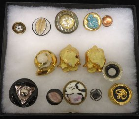 Lot Of Misc. Buttons