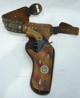 Marx Toy Pistol W/ Holster Set