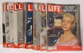 14 Life Magazines 1950- 58