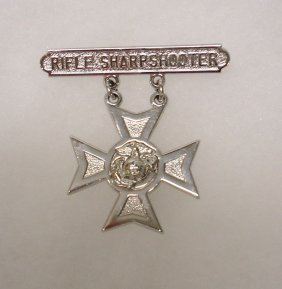 Usmc Sharpshooter Badge