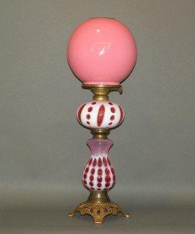 Pedestal Kerosene Lamp